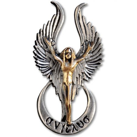 Talizman aniołów - srebro