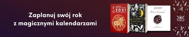 Magiczne kalendarze na 2021 w CzaryMary.pl