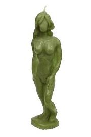 Świeca Kobiety, zielona