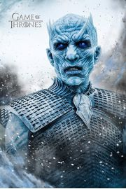 Gra o tron Night King - plakat