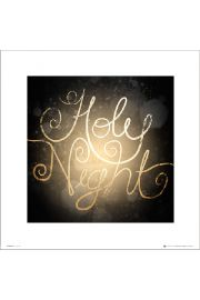 Christmas Holy Night - plakat premium