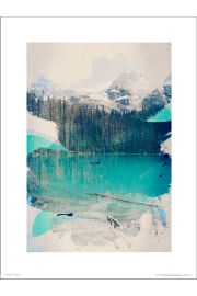 Abstract Forest - art print