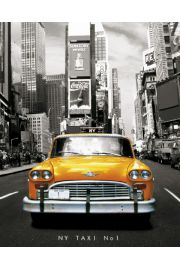 Nowy Jork Taxi no 1 - plakat