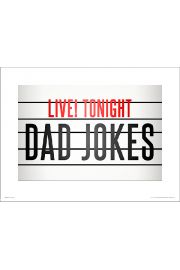 Dad Jokes - plakat premium