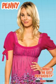 The Big Bang Theory - Penny - plakat