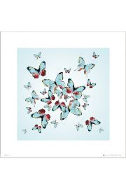 Butterflies Flight - art print