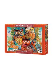 Puzzle 2000 Sowy CASTOR