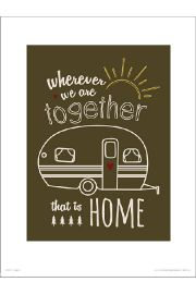 Home Together - plakat premium