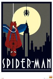 Marvel Spiderman Retro - plakat