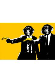 Steez Monkey Pulp Fiction - plakat