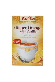 Herbata YOGI TEA Imbir z pomara�cz� i wanili� GINGER ORANGE WITH VANILLA