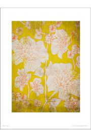 Flowers Yellow - art print