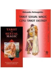 Zestaw Tarot of Sexual Magic, karty + książka