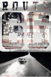 Route 66 - USA - plakat