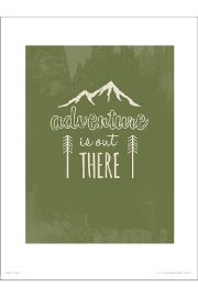 Adventure Green - plakat premium