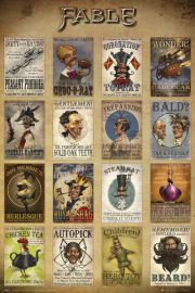 Fable Adverts - plakat