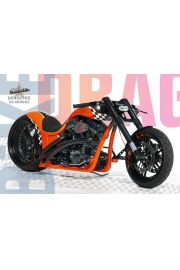 Dragster RS Orange - plakat