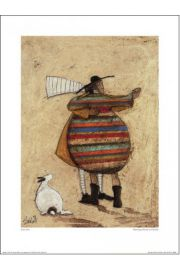Sam Toft Dancing Cheek To Cheeky - reprodukcja