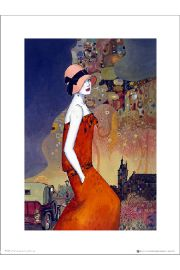 Helena Lam Summer Waiting - art print