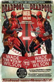 Marvel Deadpool Wade vs Wade - plakat