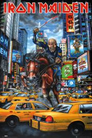 Iron Maiden - New York - plakat