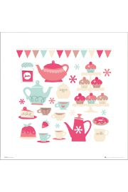 Tea And Cake - plakat premium