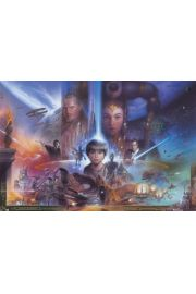 Star Wars Gwiezdne Wojny Collage - plakat