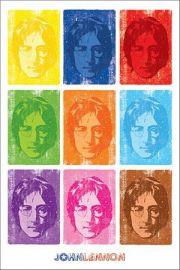 John Lennon Pop Art - plakat