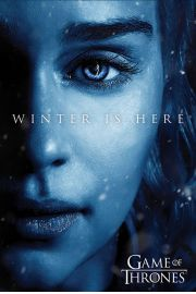 Gra o Tron Winter is Here Daenerys Targaryen - plakat