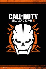 Call of Duty Black Ops 3 Skull - plakat