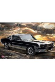 Ford Mustang Shelby 66 GT350 - plakat