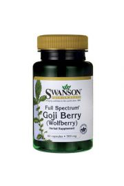 Swanson Full Spectrum Goji (Wolfberry) 500mg 60 kaps.