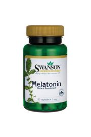 Swanson Melatonina 1mg 120 kaps.