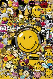 Smiley Face - Uśmiech - plakat