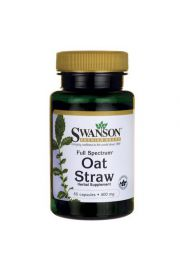 Swanson Full Spectrum Oat Straw (owies zwyczajny) 400mg 60 kaps.