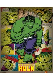 Marvel Comics - Incredible Hulk Retro - plakat