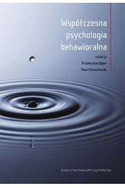 Wsp�czesna psychologia behawioralna