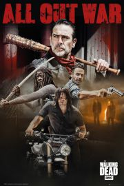 The Walking Dead All Out War - plakat