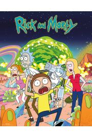 Rick and Morty Bohaterowie - plakat
