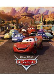 Disney Cars Auta one sheet - plakat