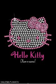 Hello Kitty Diamenty - plakat