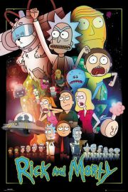 Rick and Morty Wars - plakat