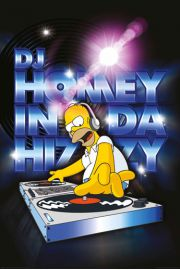 The Simpsons DJ Homey - plakat