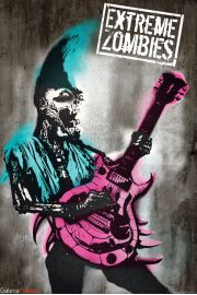 Extreme Zombies - Punk Rock - plakat