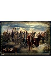 The Hobbit Obsada - plakat
