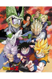 Dragon Ball Z Saga - plakat