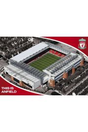 FC Liverpool Anfield Road - plakat