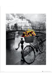 Amsterdam Bike - art print