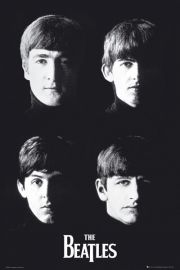 With The Beatles - plakat