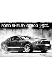 Ford Mustang Shelby GT500 Supersnake - plakat